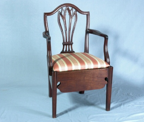 Commode Chair, England, c.1775