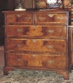 Walnut Chest of Drawers, England, c.1860